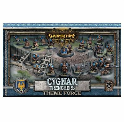 Warmachine Cygnar Trencher Theme Force Box PIP31901 - Free Oversea Ship!