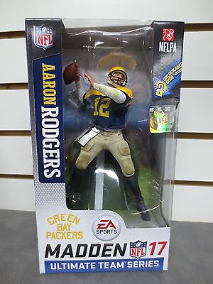 McFarlane Madden EA Sports Series 2 Aaron Rodgers Green Bay Packers NFL NFLPA