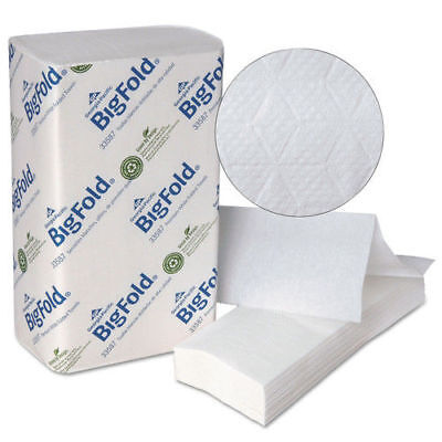 Georgia-Pacific Bigfold Paper Towels White 220/pack 10 Packs/ctn 33587 NEW
