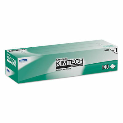 Kimberly-Clark Kimwipes Delicate Task Wipers, 1-Ply, 14 7/10 X 16 3/5, 140/box,