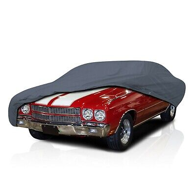 [CSC] 4 Layer Full Car Cover For Chevy Chevelle 2-door 1968 1969 1970 1971 1972