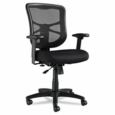 Alera Elusion Series Mid-Back Mesh Office Chair (Black) EL42BME10B New