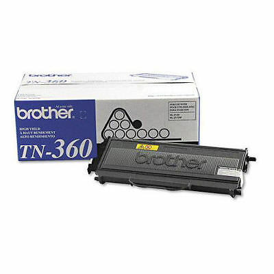 Brother TN360 High-Yield Mono Laser Toner Cartridge, Black New