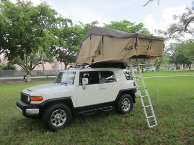 2013 Toyota FJ Cruiser Overland Trail Team Ready 2013 Toyota FJ Cruiser Summit 4X4 CVT 2 Room Roof Top Tent Rear Awning Low Miles
