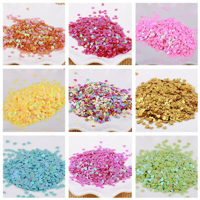 5g Nail Glitter Sequins Manicure Crafts DIY Nail Art Tips Heart Star Moon 1 Pack