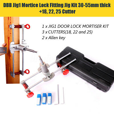 Mortice Lock  With 3 Cutter  for Souber for Jig DBB-JIG1 Door Lock Mortiser Kit