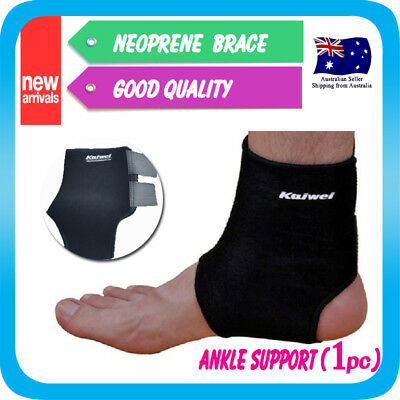 Unisex Ankle Support Neoprene Sports Brace Protector Compression Gym Guard Strap
