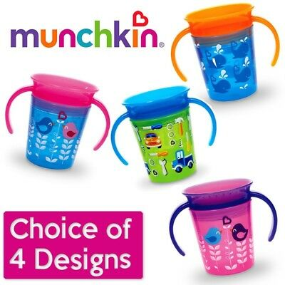 Munchkin Miracle 360° Deco Trainer Cup (Choice of Colour) (A29)