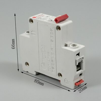 230/400V 1P Plastic Air Switch Miniature Residual Leakage Circuit-breaker 6A-40A
