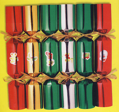 Make Your Own 6 Christmas Crackers Diy Kit With Snappers & Everything You Need