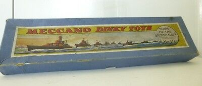 Rare 1930/40' Dinky Toy Ships of the British Navy - WW2 Period Royal Navy Ships