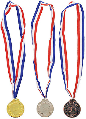 Gold Silver Bronze Award Medals - Olympic Style Awards for Contests - 6 Pc Set