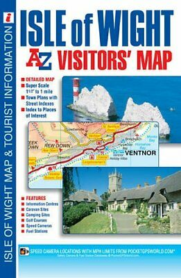 Isle of Wight Visitors' Map by Geographers A-Z Map Company Sheet map, folded The