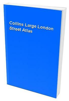 Collins Large London Street Atlas Paperback Book The Cheap Fast Free Post
