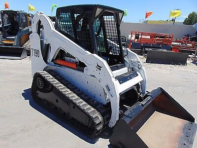 2010 Bobcat T-190 Turbo - Enclosed Cab - Only 1,783 Hours -
