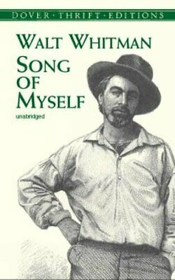 Song of Myself (Dover Thrift Editions) by Whitman, Walt Paperback Book The Cheap