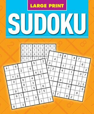 Large Print Sudoku by Arcturus Publishing Book The Cheap Fast Free Post