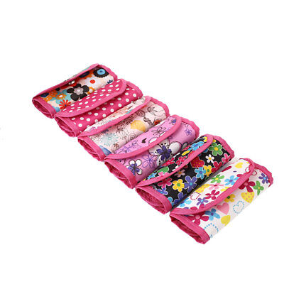 Pouch Knitting Crochet Case Needle Hook Holder Storage Organizer Print Bag