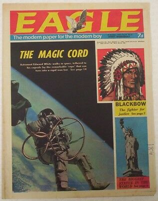 EAGLE Comic Vol.18 # 41. Dated Oct.1967. Cutaway of Underwater Research vessel.