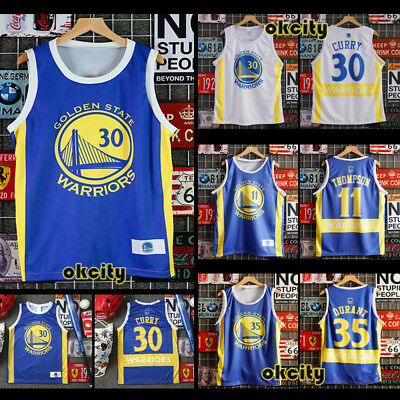 Golden State Warriors NBA Jersey Men Child Kid Basketball Vest Singlet Sport Top