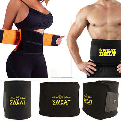 Waist Trimmer Exercise Wrap Belt Burn Fat Sweat Weight Loss Hot Body Shaper