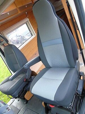 i-TO FIT PEUGEOT BOXER MOTORHOME SEAT COVERS, SHEEN MH-108