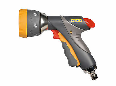 Hozelock 2694 Multi Spray Pro Metal Watering Gun 7 Spray Patterns New Model