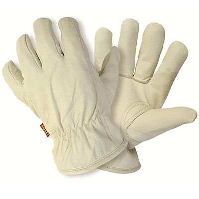 Briers Lined Hide Leather Gardening Gloves