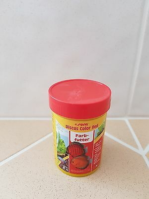 Sera Discus color Red - Granulatfutter für rote Diskus 100ml