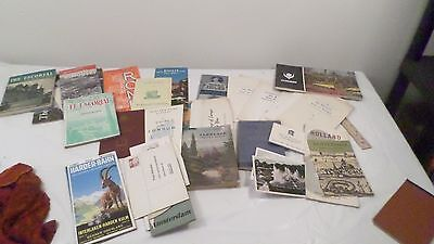 Lot Vintage Travel Books Brochures of Europe Rome Ireland Holland & More