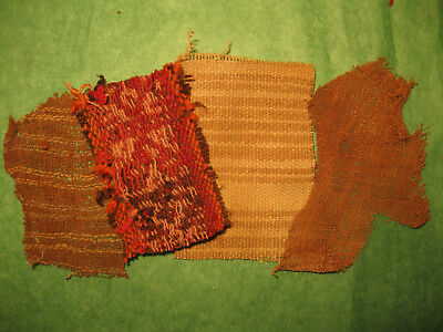 Authentic Pre Columbian Inca Chancay Fabric Textiles, 500 Year Old Cloth, #2-Z
