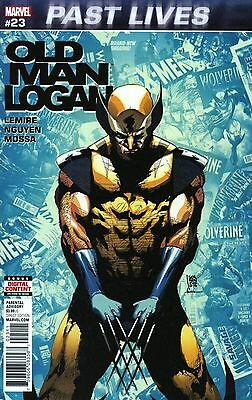 Old Man Logan #23 Main Cover 3/4 Past Lives Story Marvel Comics (NS3)