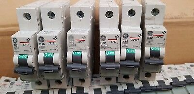 Ge Ep101, Ge Ep61, General Electric Mcb Circuit Breakers 6A, 10A, 16A, 32A & 40A