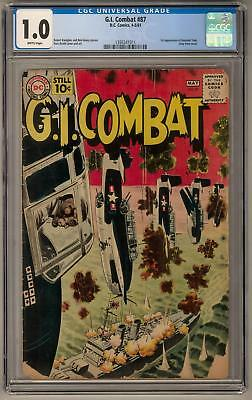 G.I. Combat #87 CGC 1.0 (B) 1st Haunted Tank