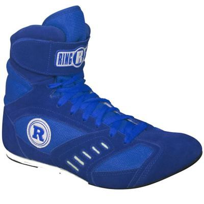 RINGSIDE POWER Boxing SHOES Low Top - Blue - Size 9 Mens (11 Womens) BX2209C NEW