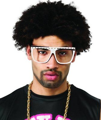 LMFAO PARTY ROCK GLASSES Frames WHITE Black Redfoo Costume Sexy Dance LICENSED
