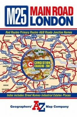 A-Z Main Road Map of London (Road M... by Geographers' A-Z Map Sheet map, folded