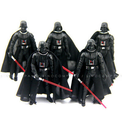 """Lot 5PCS Star Wars 2005 Darth Vader Revenge 3.75"""" Action Figure Movies Toy Gift"""