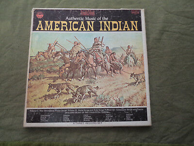 #bb. Three Lp Records - Music Of The American Indian