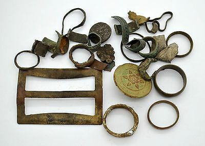 Medieval Viking Period Jewelery parts