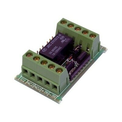 Nidac Dpdt Control Relay 2 Pole Double Throw