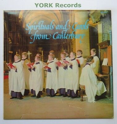 SPIRITUALS & CAROLS FROM CANTERBURY - Excellent Con LP Record Grosvenor GRS 1034