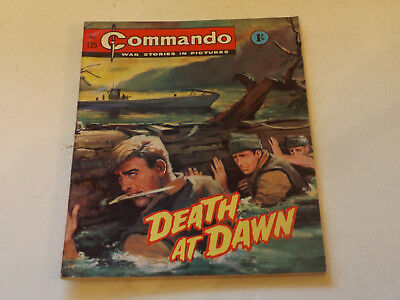 Commando War Comic Number 125,1964 Issue,super For Age,53 Years Old,very Rare.