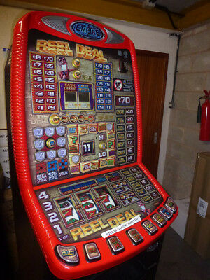 Reel Deal  Fruit Machine On £70 Jackpot. Accepts New Pound