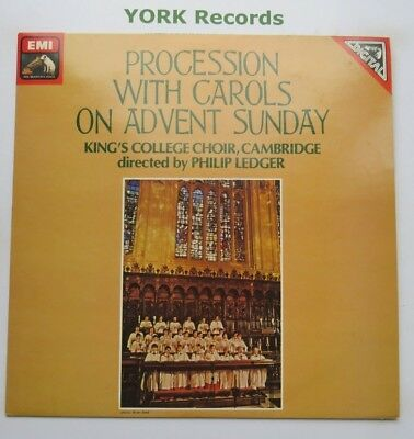 ASD 3907 - PROCESSION WITH CAROLS ON ADVENT SUNDAY - KING'S - Ex Con LP Record