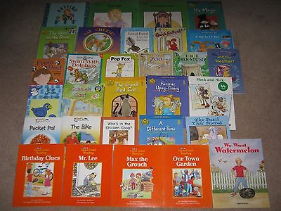Lot of 30 Begin to Read Leveled Reader Books Pre-K- 1st Grade SC Variety VGC