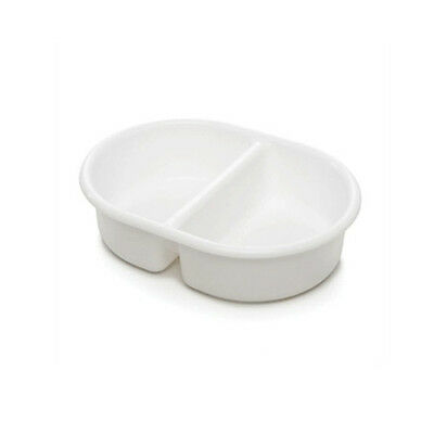 The Neat Nursery - Oval Top and Tail Bowl - White