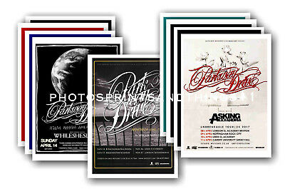 PARKWAY DRIVE - 10 promotional posters - collectable postcard set # 1
