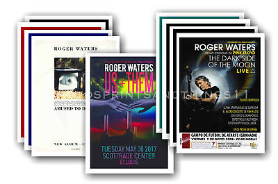 ROGER WATERS - PINK FLOYD- 10 promotional posters - collectable postcard set # 2
