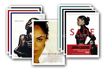 SADE - 10 promotional posters - collectable postcard set # 1